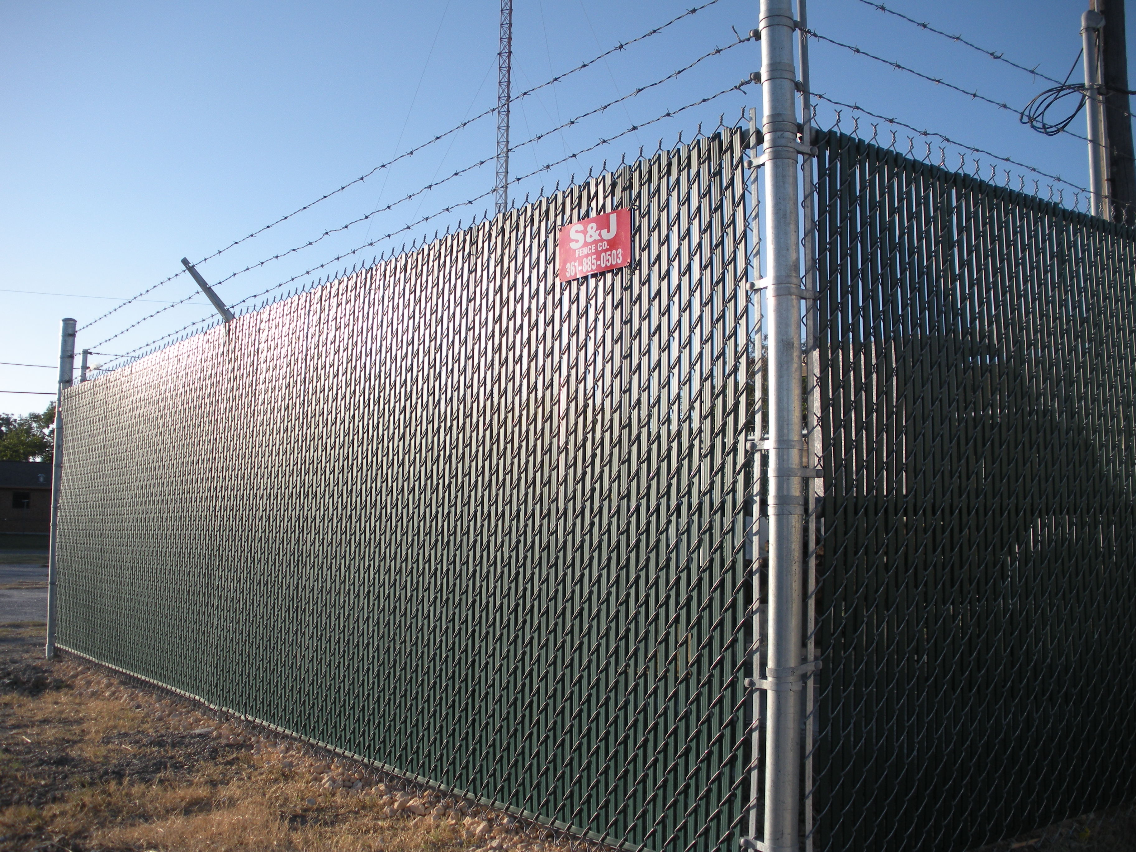 Corpus christi and gulf coast chain link security fence
