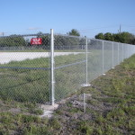 6 ft Commercial Grade Chain Link Fence