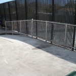 3 ft Chain Link Railing