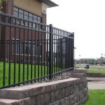 4 ft. Commercial Grade Aluminum Fence