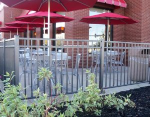 3 ft Commercial Grade Aluminum Fence