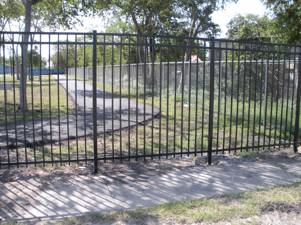 Commercial ornamental s j fence co
