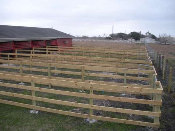 Contemporary Wood Farm Fence Fencing On Design Decorating