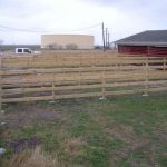 Wood Corral Fencing