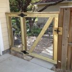 2- Rail with Cap and Panel Backing, Custom Gate to Match