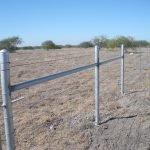 4 ft. Net Wire Fence with Welded Galvanized Steel Bracing