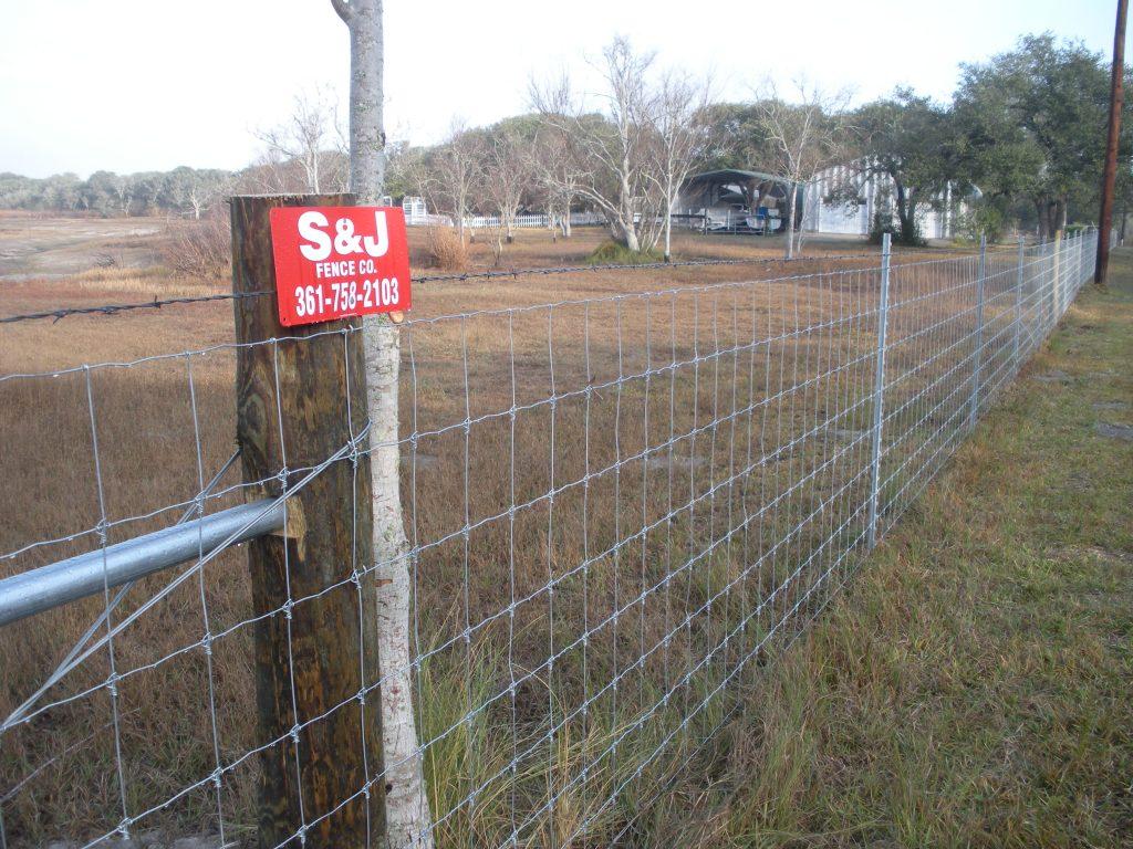 Farm ranch field s j fence co