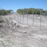 8 ft Game Proof Fence - Construction of High Strength Water Gap