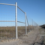 8 ft. Game Proof Fence