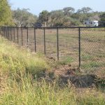 5 ft. Black Vinyl Coated Chain Link Fence