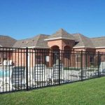 6 ft. Residential Aluminum Fence