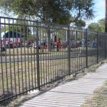 6 ft. Commercial Aluminum Fence