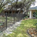4 ft. Dark Bronze Residential Grade Aluminum Fence
