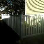 4 ft. White Vinyl Picket Style Fence
