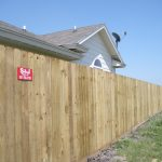 6 ft. Treated Privacy Fence