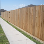 6.5 ft. Cedar Privacy Fence