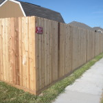 6 ft. Cedar Privacy Fence