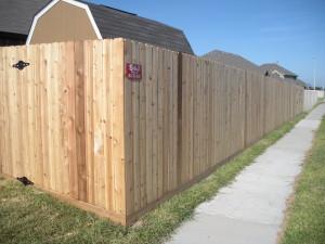 6 ft. Cedar Privacy Fence
