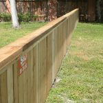 4 ft. Cedar Cap and Trim Wood Fence