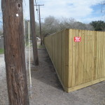 6.5 ft. Treated Privacy Fence