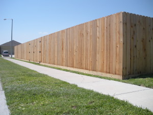 "6'6"" Cedar Privacy Fence"