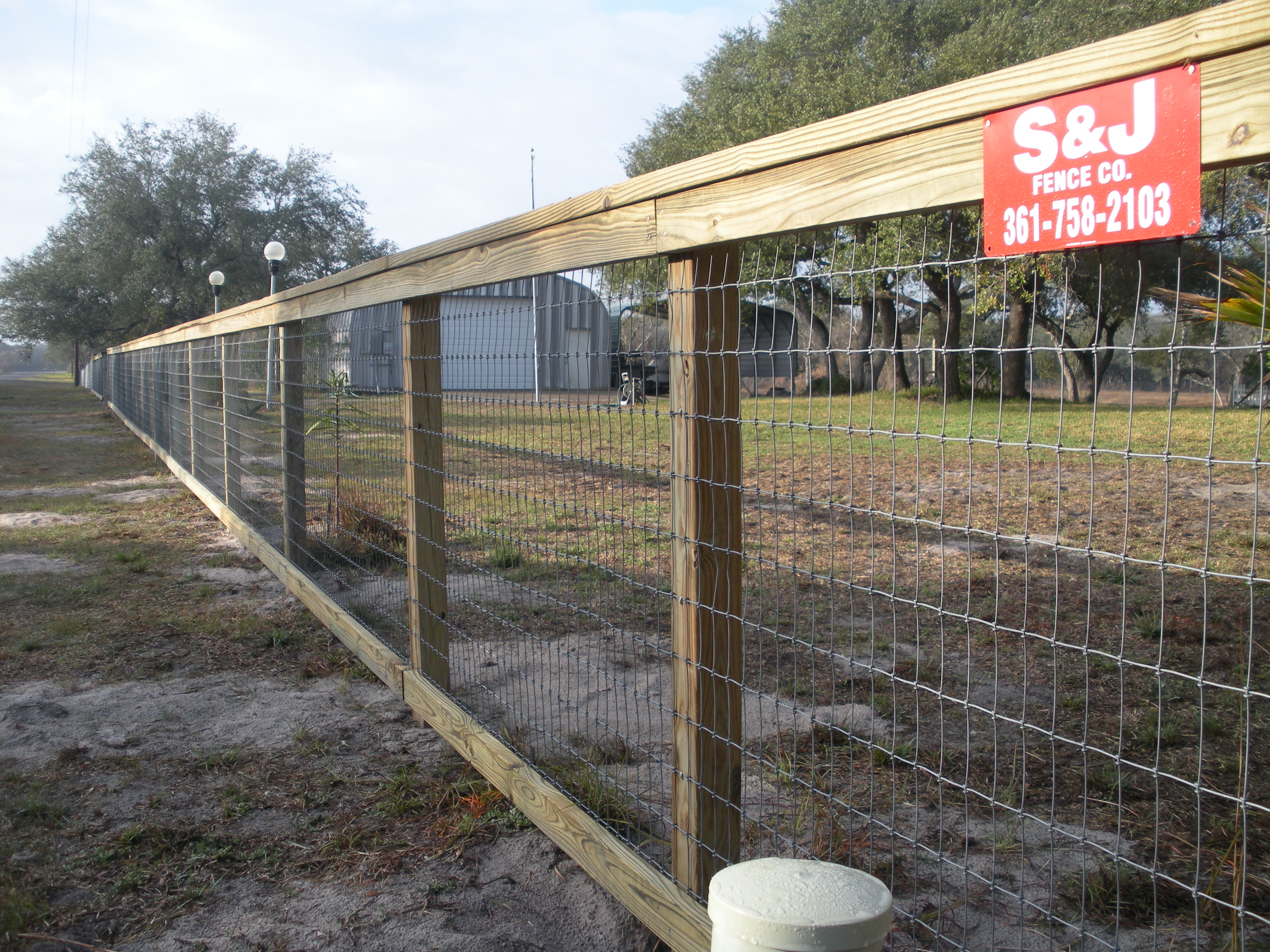 "Have a ranch fence project need ""rustic style"